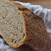Post image for How To Bake No-Knead Sourdough Rye Bread
