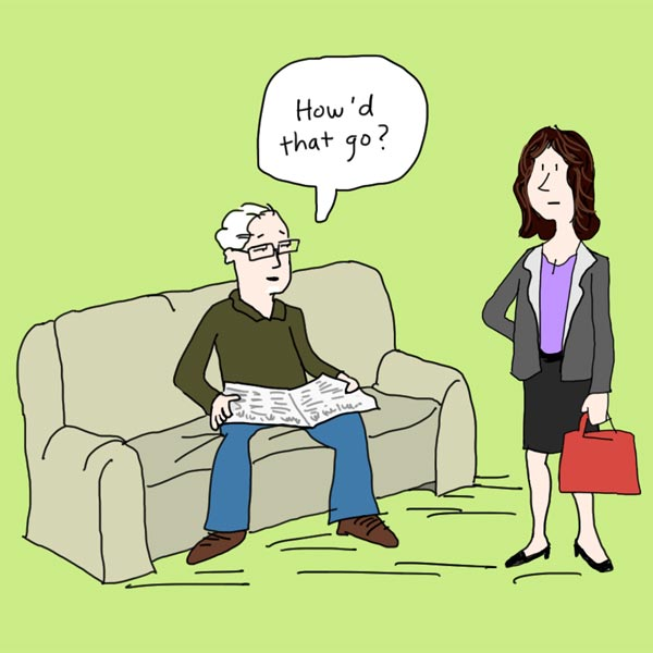 How Not To Look Old cartoon 2of3