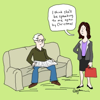 How Not To Look Old cartoon 3of3